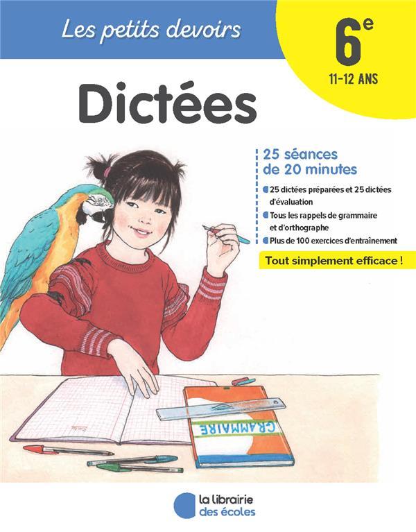 PETITS DEVOIRS DICTEE 6EME