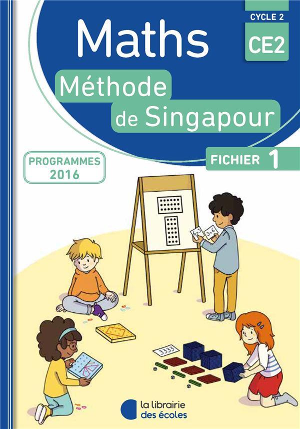 MATHS SINGAPOUR CE2 FICHIER 1