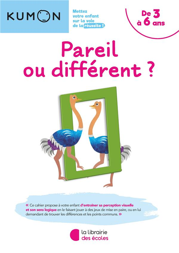 KUMON PAREIL OU DIFFERENT ? 2019