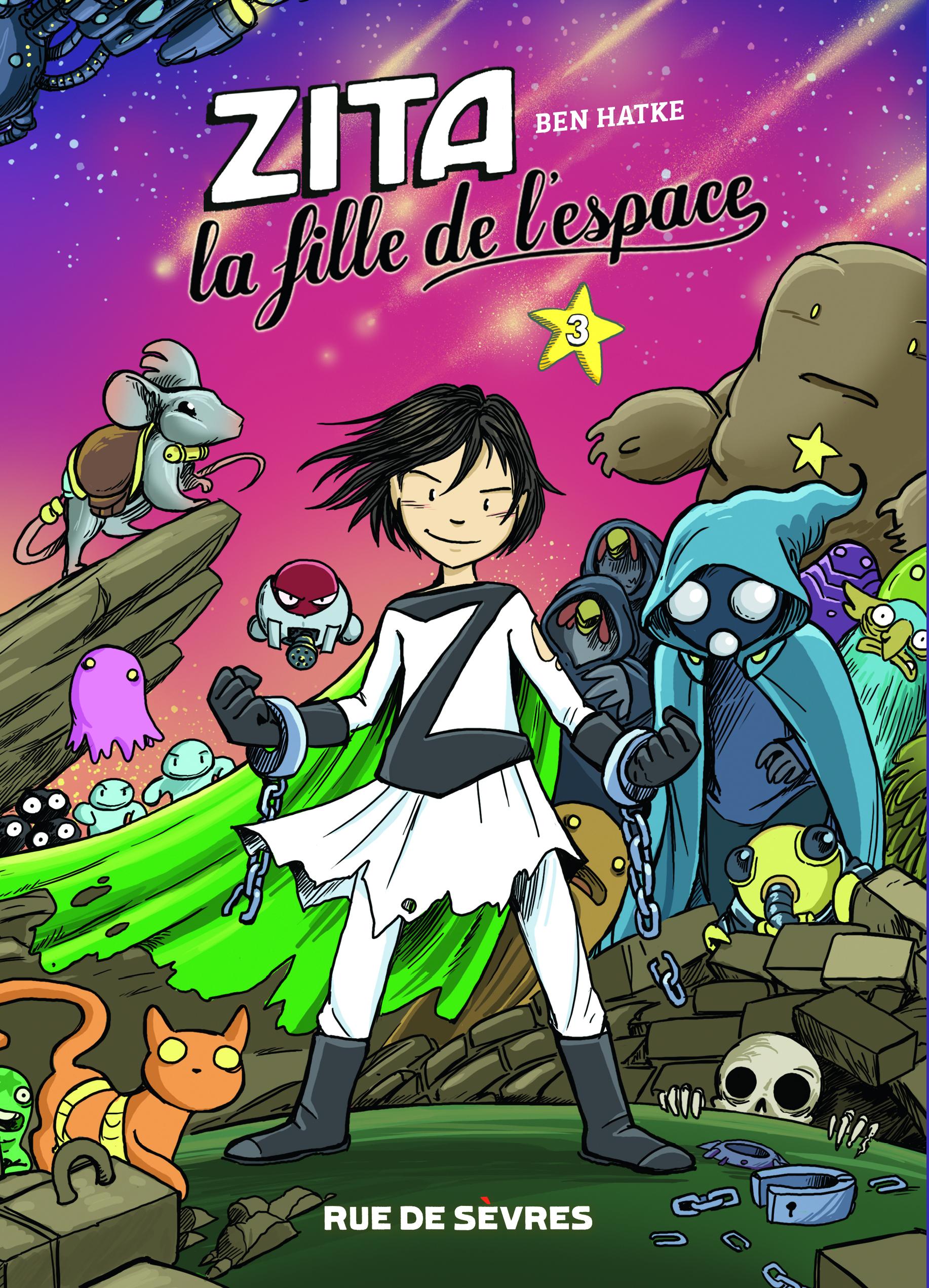 ZITA LA FILLE DE L'ESPACE T3