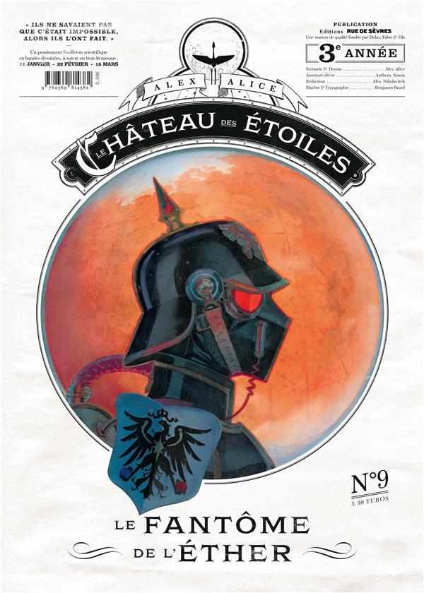 CHATEAU DES ETOILES GAZETTE N9 LE FANTOME DE L'ETHER
