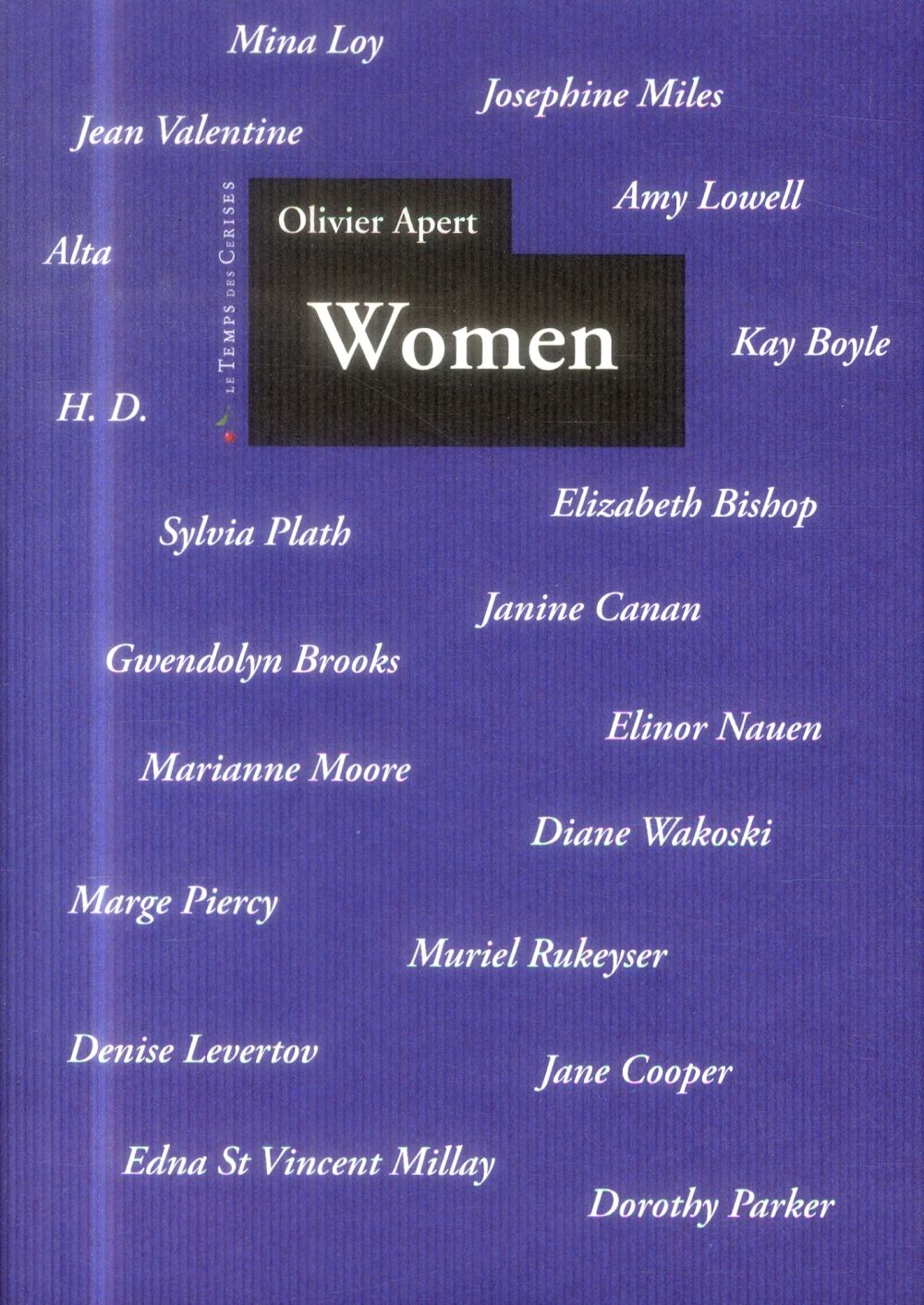 WOMEN, UNE ANTHOLOGIE DE LA POESIE FEMININE AMERICAINE