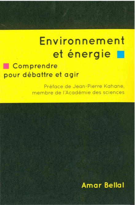 ENVIRONNEMENT ET ENERGIE