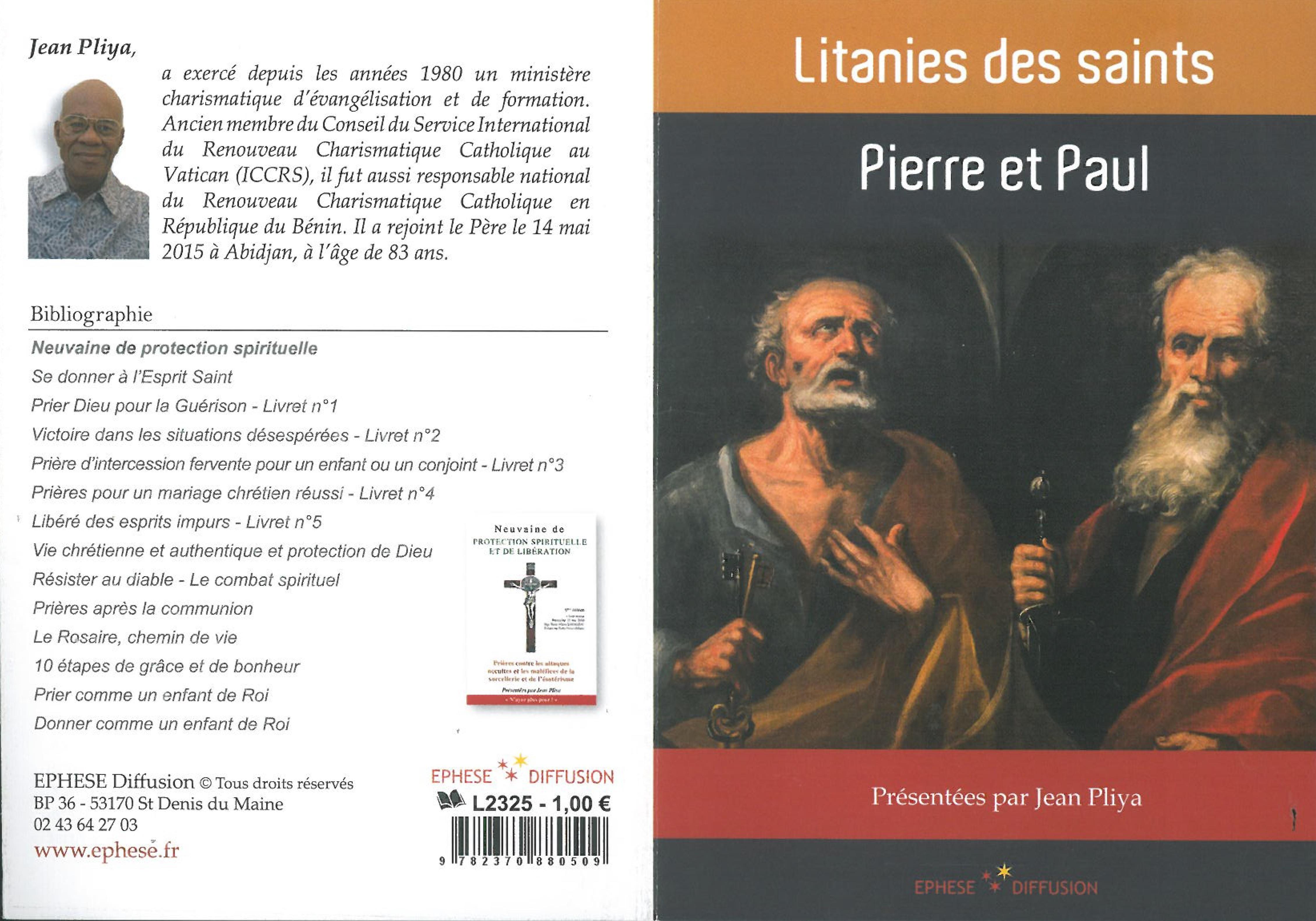 LITANIE DES SAINTS - PIERRE ET PAUL