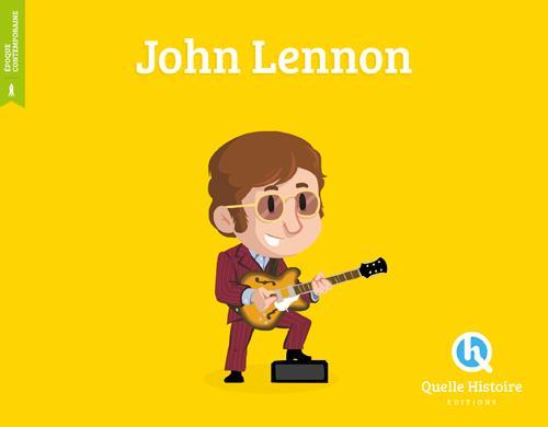 DISPLAY 8EX JOHN LENNON (HIST.JEUNESSE)