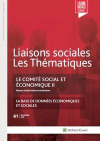 LE COMITE SOCIAL ET ECONOMIQUE II - MOYENS D INFORMATION ET ATTRIBUTIONS
