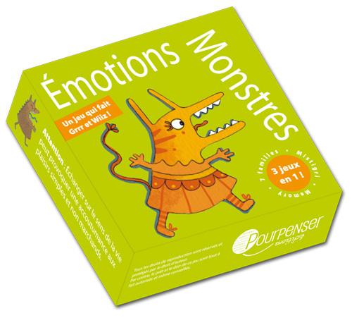 EMOTIONS MONSTRES - A LA DECOUVERTE DE NOS EMOTIONS