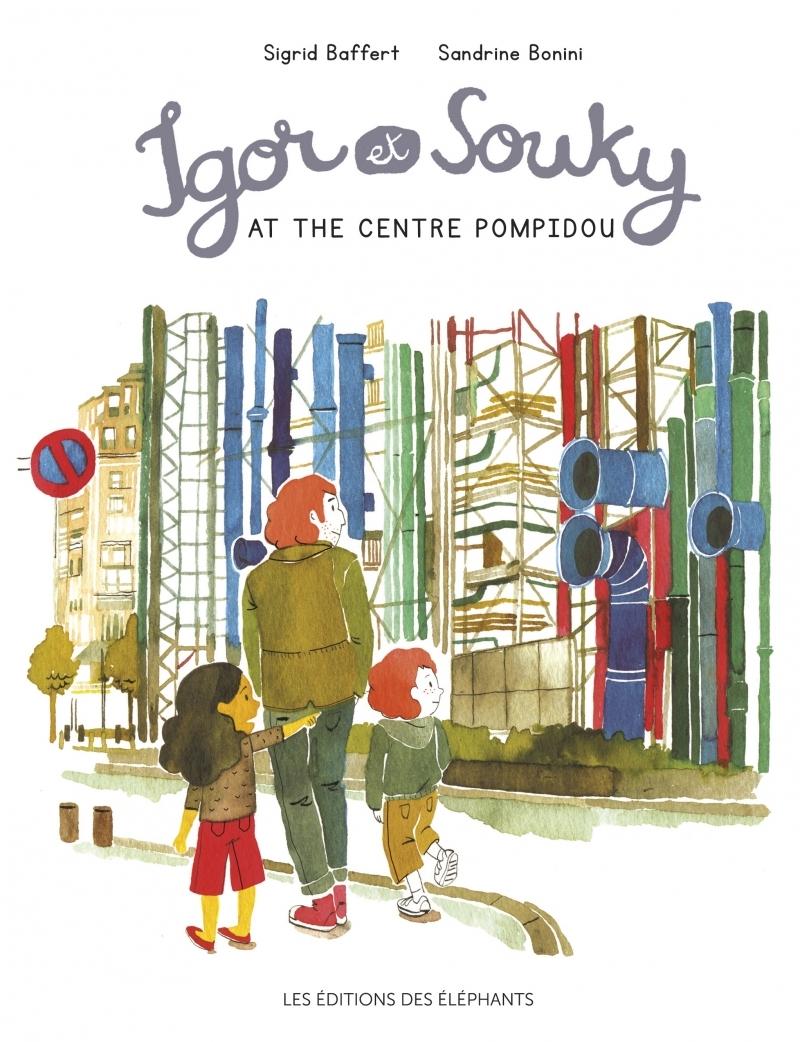 IGOR AND SOUKY VISIT THE CENTRE POMPIDOU (ANGLAIS)