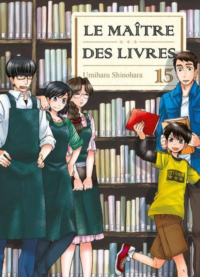 LE MAITRE DES LIVRES - TOME 15