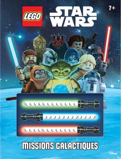 LEGO STAR WARS : LIVRE D'ACTIVITES AVEC BRIQUES