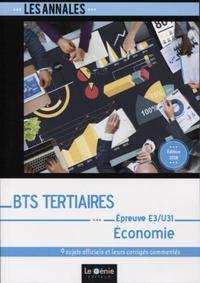BTS TERTIAIRES - ECONOMIE - EPREUVE E3-U31