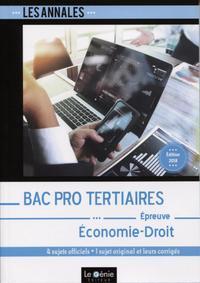 BAC PRO TERTIAIRES - ECONOMIE-DROIT