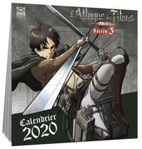 L'ATTAQUE DES TITANS CALENDRIER 2020