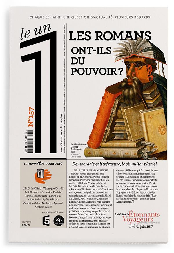 LE 1 NUMERO 157 LES ROMANS ONT-ILS DU POUVOIR ?