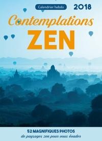 CALENDRIER HEBDO CONTEMPLATIONS ZEN 2018