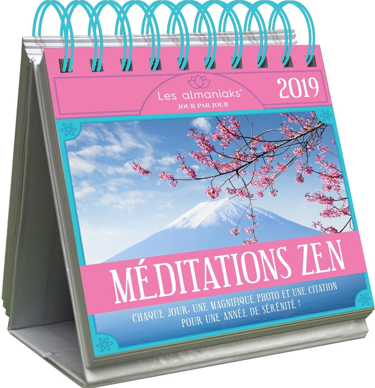 LE GRAND ALMANIAK MEDITATIONS ZEN 2019