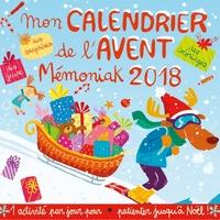 MON CALENDRIER DE L'AVENT MEMONIAK 2018