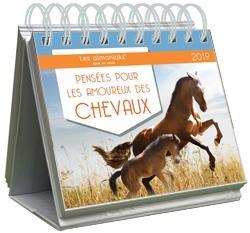 ALMANIAK PENSEES POUR LES AMOUREUX DES CHEVAUX 2019