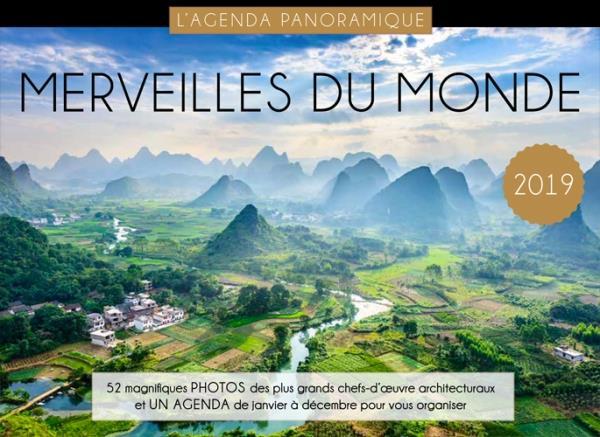 AGENDA PANORAMIQUE MERVEILLES DU MONDE 2019