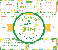 LE SEMAINIER DE MA VIE GREEN