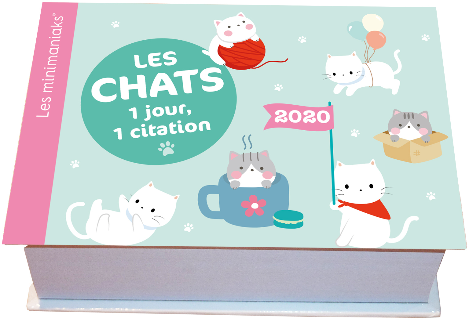 MINIMANIAK LES CHATS : 1 JOUR, 1 CITATION 2020