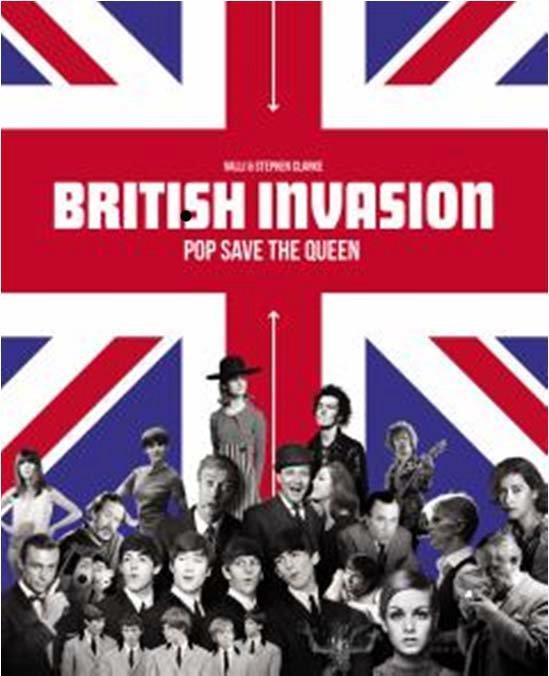 BRITISH INVASION COFFRET LIVRE/DVD - POP SAVE THE QUEEN