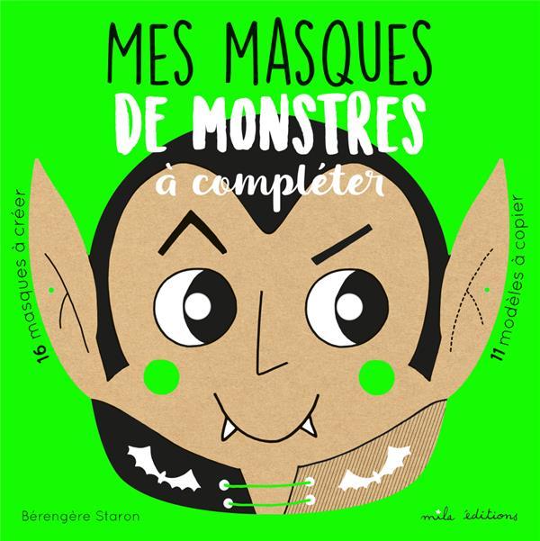 MASQUES DE MONSTRES A COMPLETER (MES)