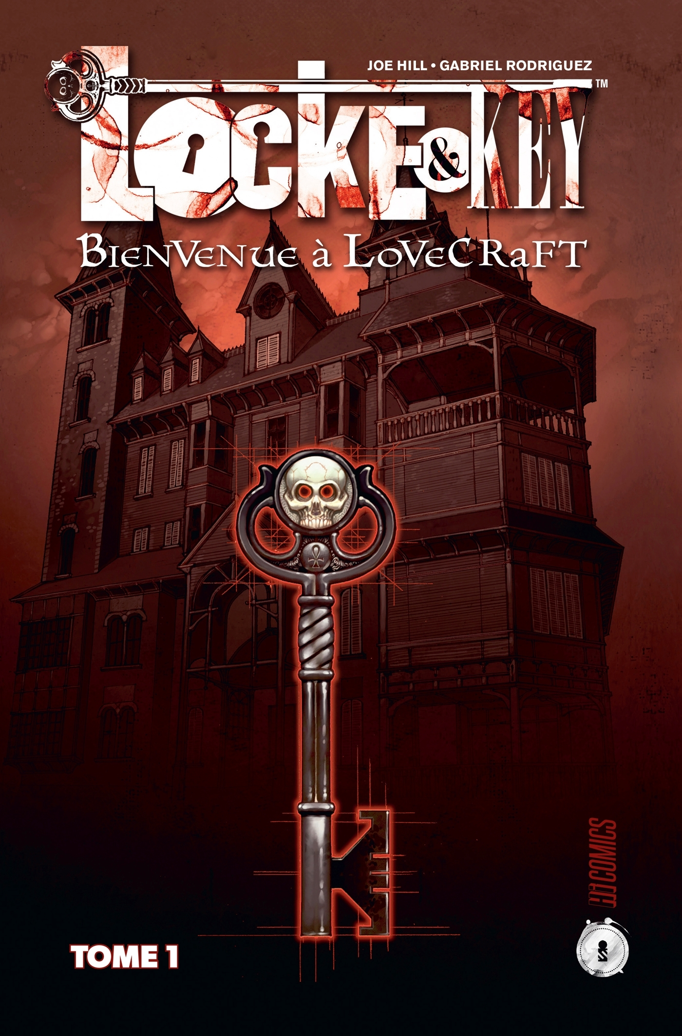 LOCKE & KEY, T1 : BIENVENUE A LOVECRAFT
