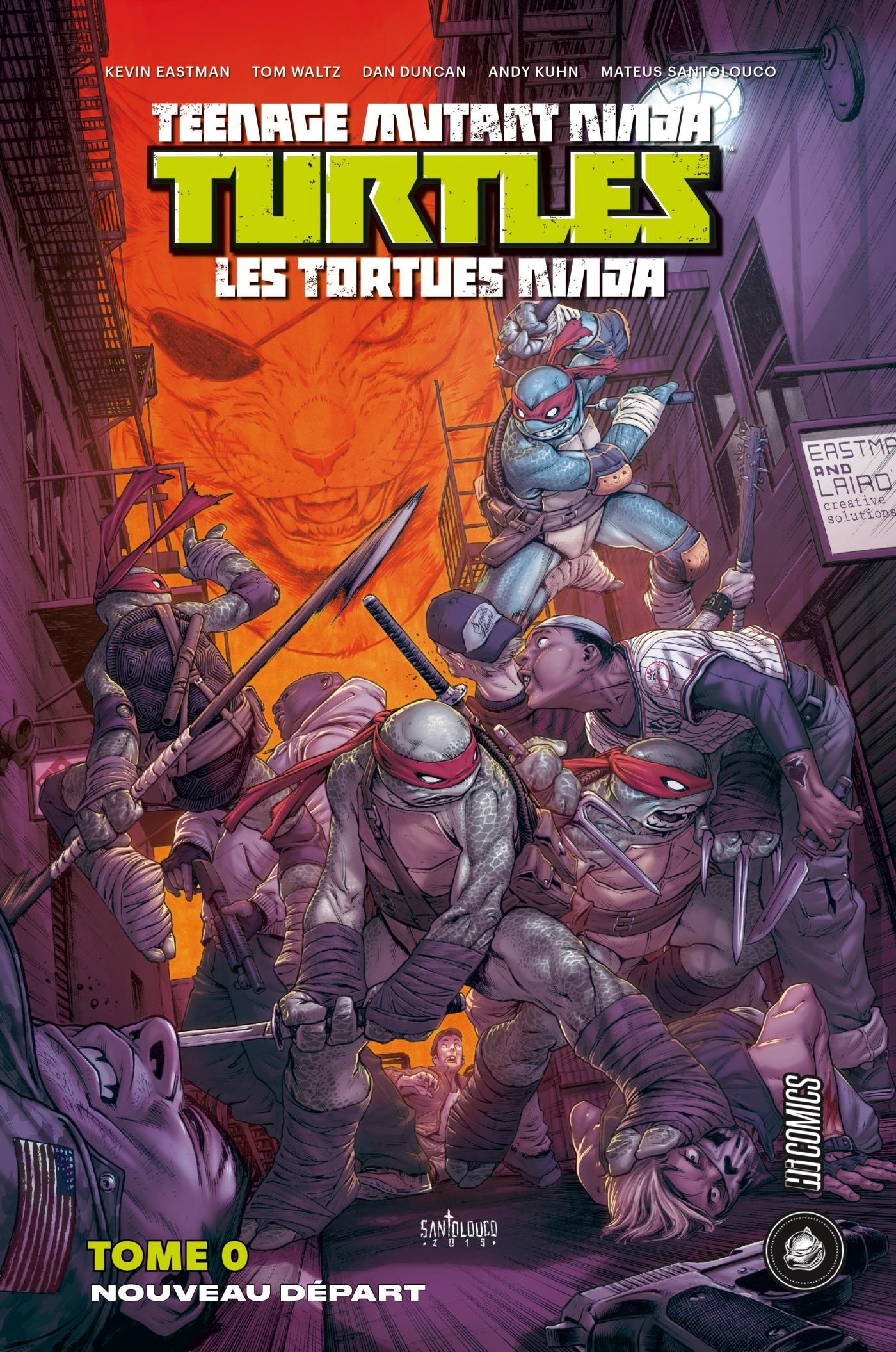 LES TORTUES NINJA - TMNT : NOUVEAU DEPART