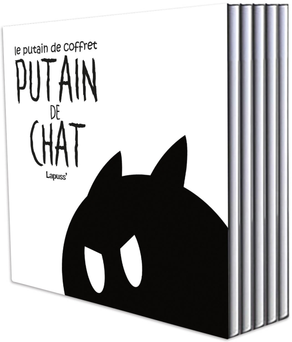 PUTAIN DE CHAT - COFFRET PUTAIN DE CHAT - TOMES 1 A 5 - PUTAIN DE CHAT T01 -T05 - COFFRET