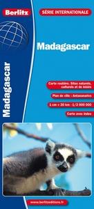 MADAGASCAR - CARTE ROUTIERE ET TOURISTIQUE