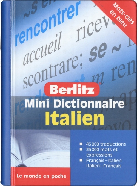 ITALIEN MINI DICTIONNAIRE