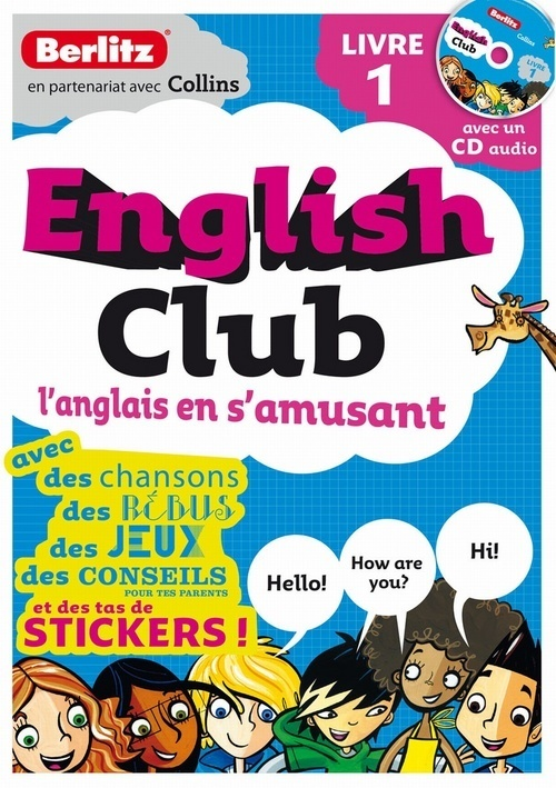 ENGLISH CLUB LIVRE 1