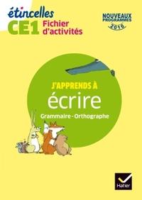 ETINCELLES - ETUDE DE LA LANGUE CE1 ED. 2017 - FICHIER D'ACTIVITES