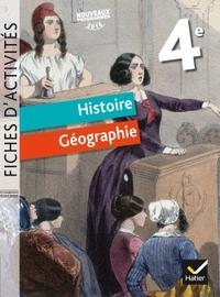 FICHES D'ACTIVITES - HISTOIRE-GEOGRAPHIE 4E ED. 2017