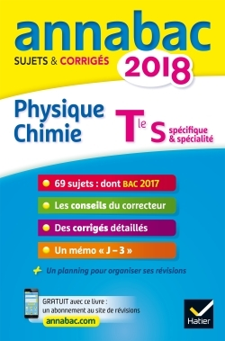 ANNALES ANNABAC 2018 PHYSIQUE-CHIMIE TLE S