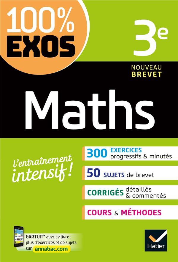 100 % EXOS - 13 - MATHS 3E - EXERCICES RESOLUS