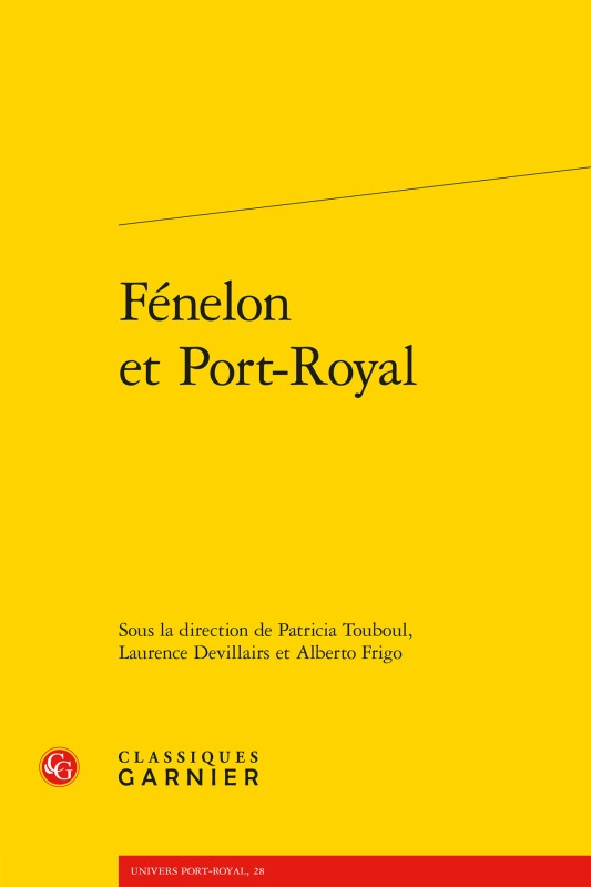 FENELON ET PORT-ROYAL