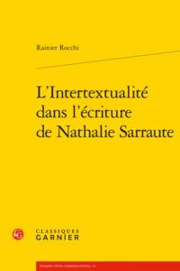 L'INTERTEXTUALITE DANS L'ECRITURE DE NATHALIE SARRAUTE