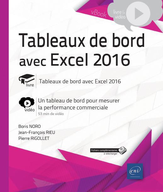 TABLEAUX DE BORD AVEC EXCEL 2016 - COMPLEMENT VIDEO : UN TABLEAU DE BORD POUR MESURER LA PERFORMANCE