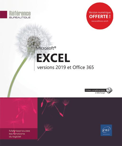 EXCEL - VERSIONS 2019 ET OFFICE 365