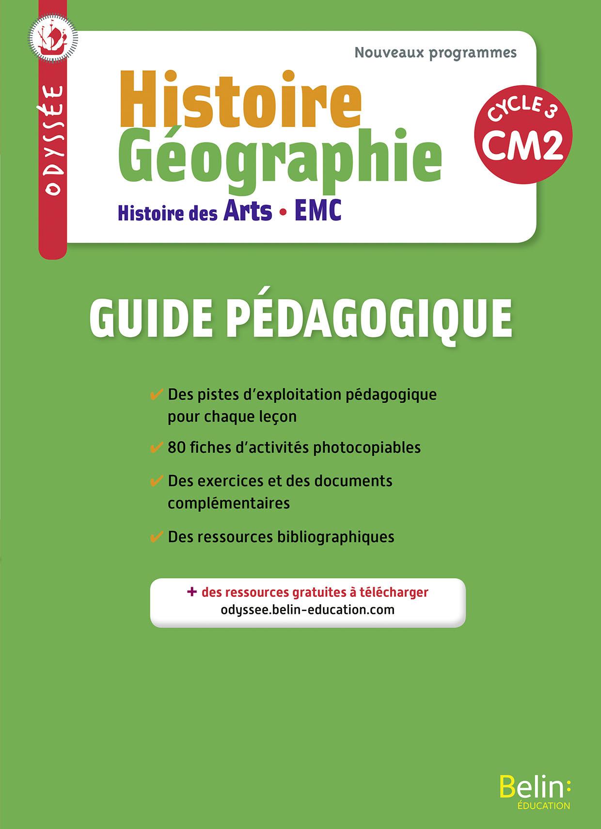 ODYSSEE CM2 2017 - GUIDE PEDAGOGIQUE