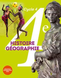 HISTOIRE GEOGRAPHIE 4E ELEVE 2