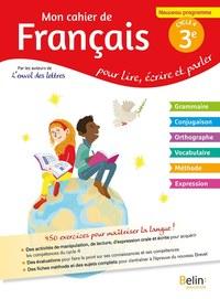 MON CAHIER DE FRANCAIS 3E