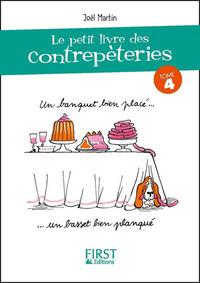 LE PETIT LIVRE DE - CONTREPETERIES - TOME 4