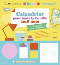 CALENDRIER POUR TOUTE LA FAMILLE 2018/2019