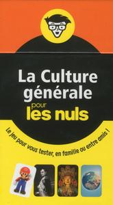BOITE A QUESTIONS - LA CULTURE GENERALE POUR LES NULS, 7E EDITION