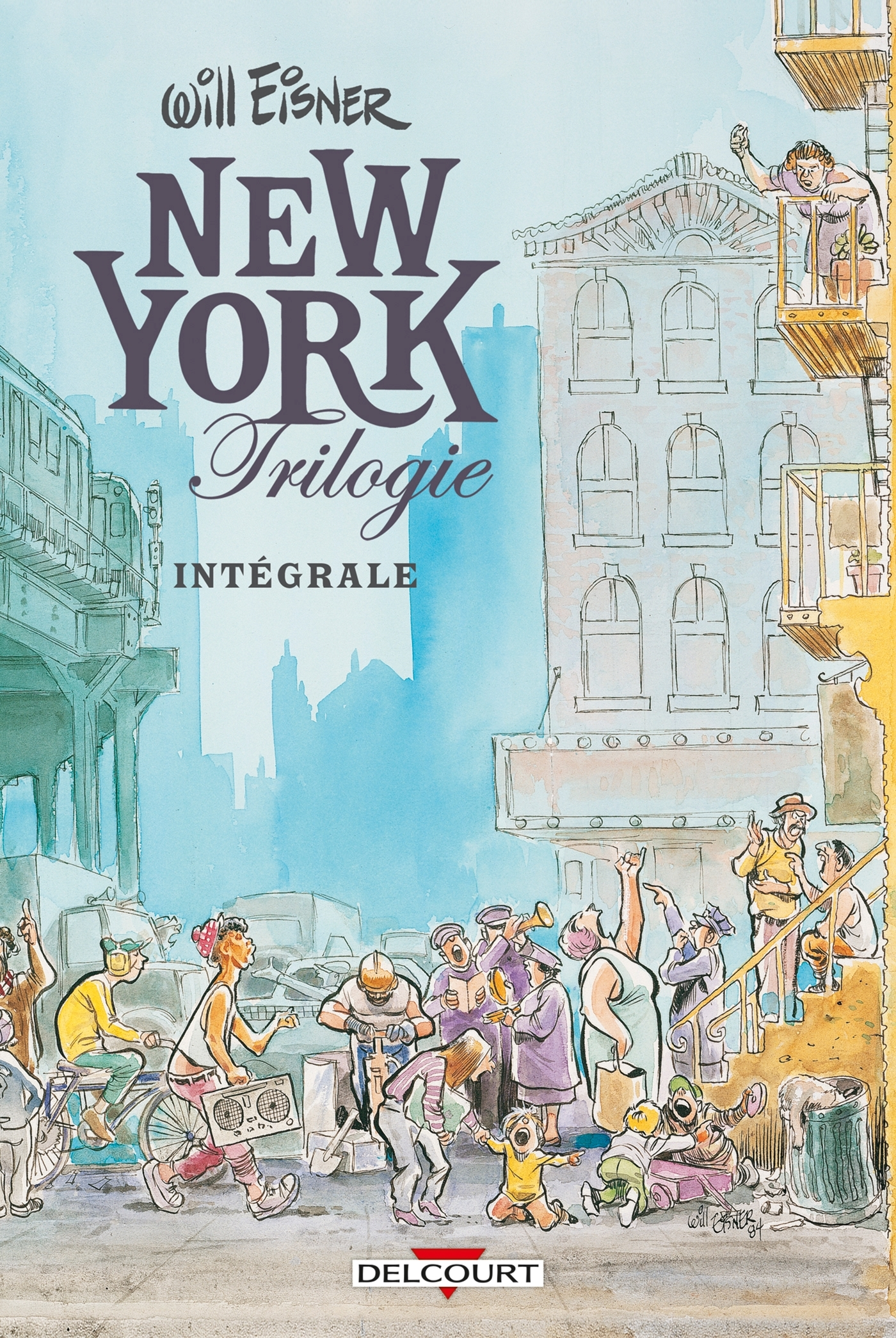 WILL EISNER INTEGRALE VOLUME I : NEW YORK TRILOGIE - T1