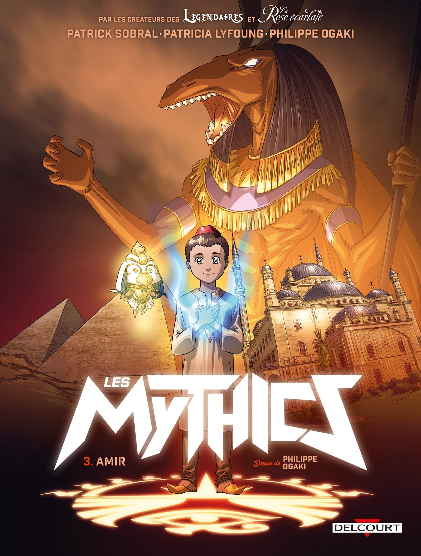 MYTHICS T03. AMIR