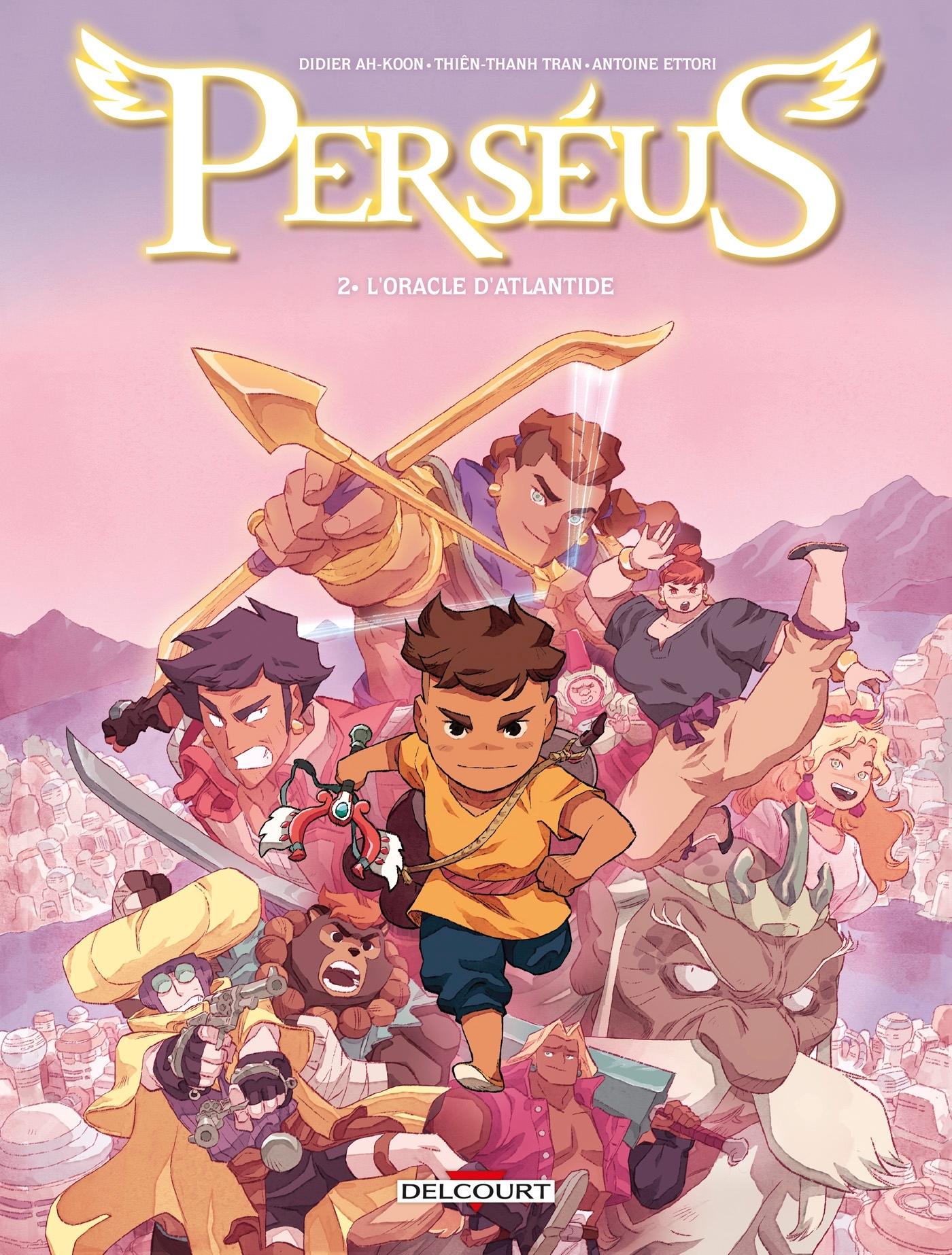 PERSEUS - T02 - PERSEUS 02. L'ORACLE D'ATLANTIDE